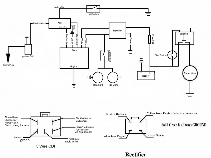 Ktm 690 Wire Diagram  Wiring Forums