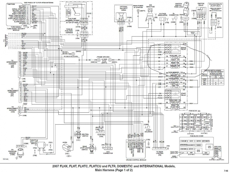 1966 Harley    Davidson       Wiring       Diagram        Wiring    Forums