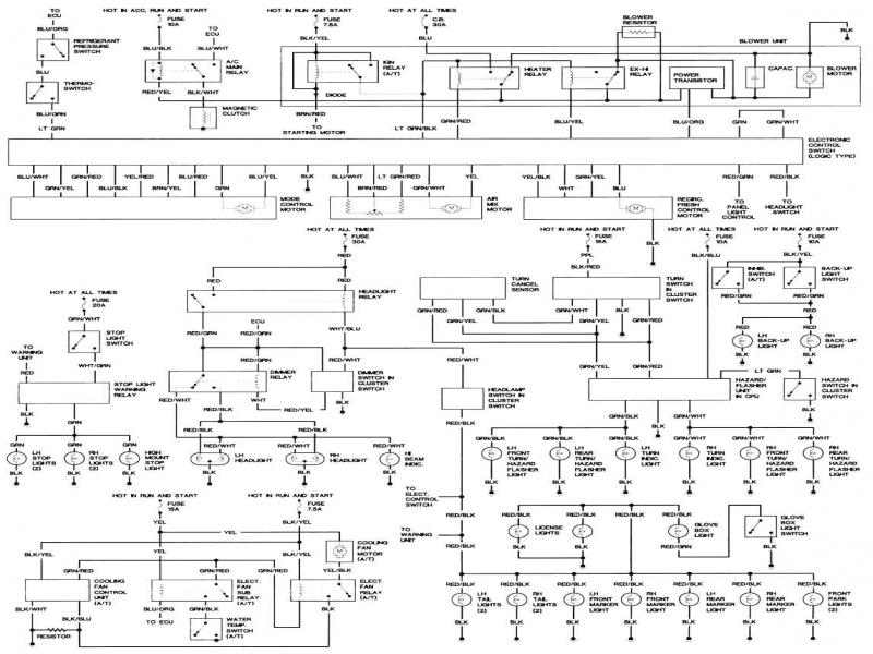 Ignition    Wiring       Diagram    1988 Mazda    626        Wiring    Forums