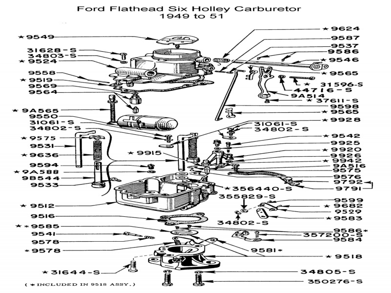 carter carburetors ford f 150 300 diagram