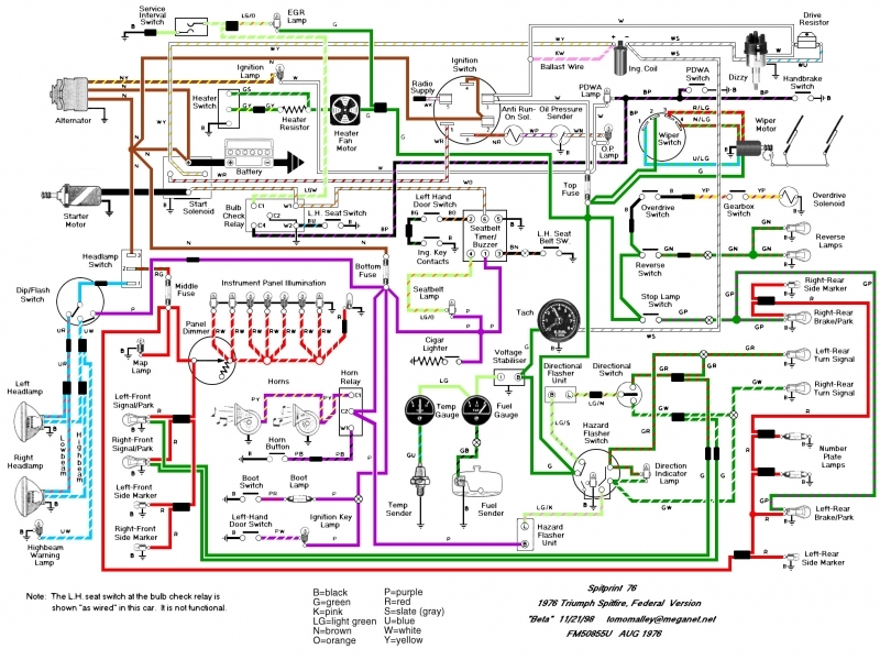 2005 Triumph Rocket 3 Wiring Diagram