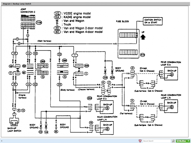 Need Wiring Diagram For 1985 Nissan 720 Pickup  Wiring Forums