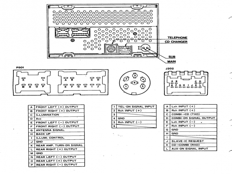 1994 Nissan Pickup Stereo Wiring Diagram  Wiring Forums