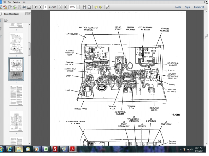 Onan 6.5 nhe service manual Onan Marquis Wiring Diagram on