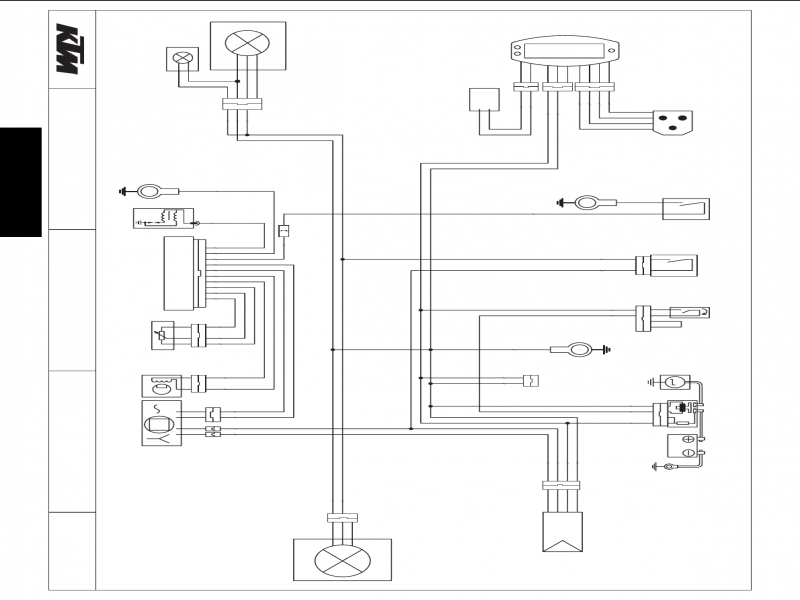Ktm 690 Wire Diagram  Wiring Forums