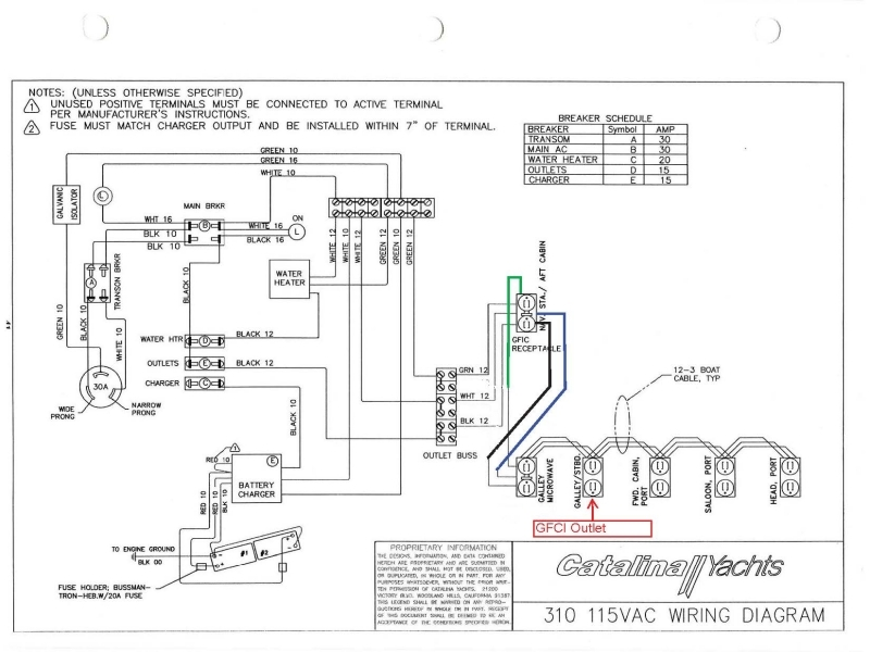 Boat Wiring Diagrams Schematics Also 12 Volt Led Light