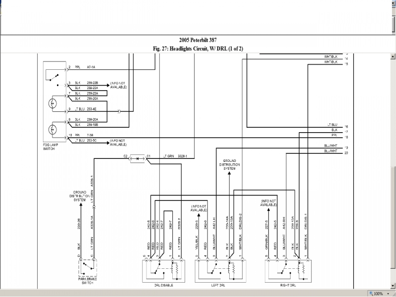 peterbilt 359 headlight wiring diagram confusing process flow kwclan co forums 1981