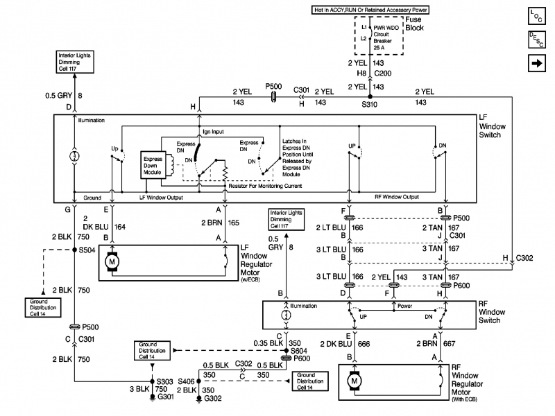 2004 Pontiac Grand Prix Wiring Diagram