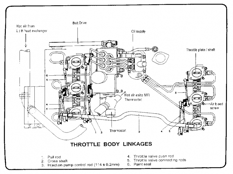 Throttle Body Fuel Injection Systems Diagram