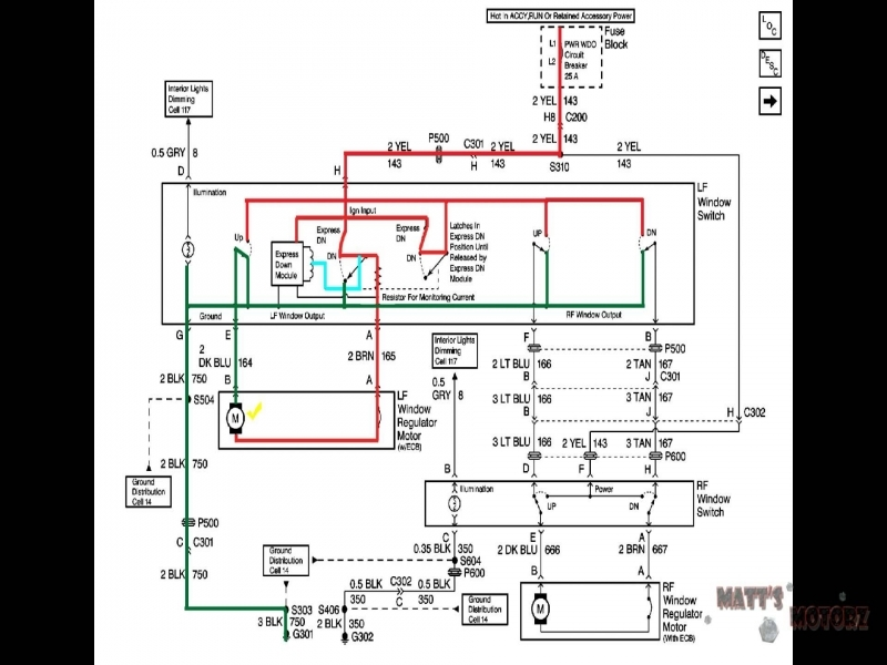 Pontiac Bonneville Wiring Diagram 2002 Pontiac Bonneville Window