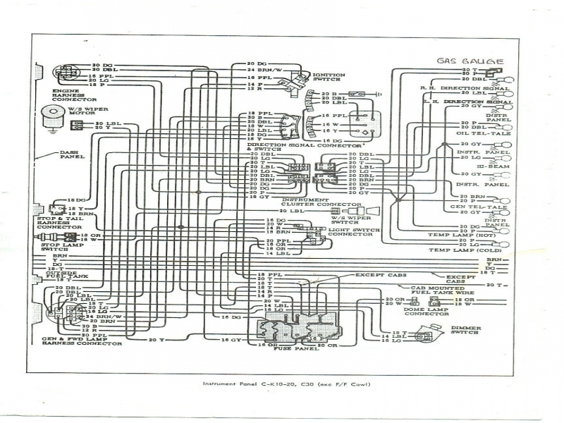 1972 chevy c10 pickup truck wiring diagram - wiring forums 72 chevy truck wiring diagram
