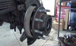 Rear Axle Bearing, Seal, E-Brake Shoes, Brake Pads & Rotor