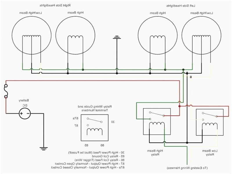 Low Voltage Lighting Relay Wiring Diagram