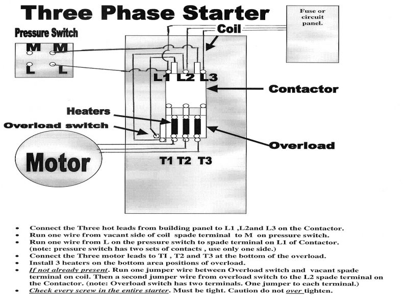 Wiring Diagram  34 Magnetic Starter Wiring Diagram
