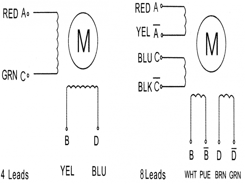 stepper motor circuit diagram