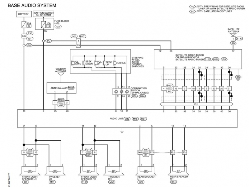 Wiring Diagram For 03 Nissan 350z