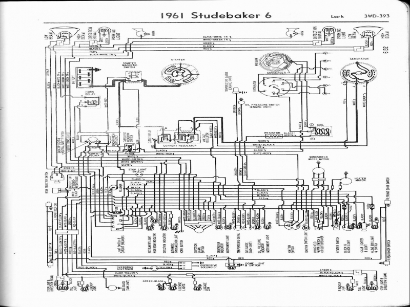 Backup Light Wiring Diagram For 1954 Studebaker Ch Ion And