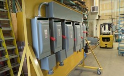 Temporary Mobile Power Equipment 400A Distribution Panels Sub A