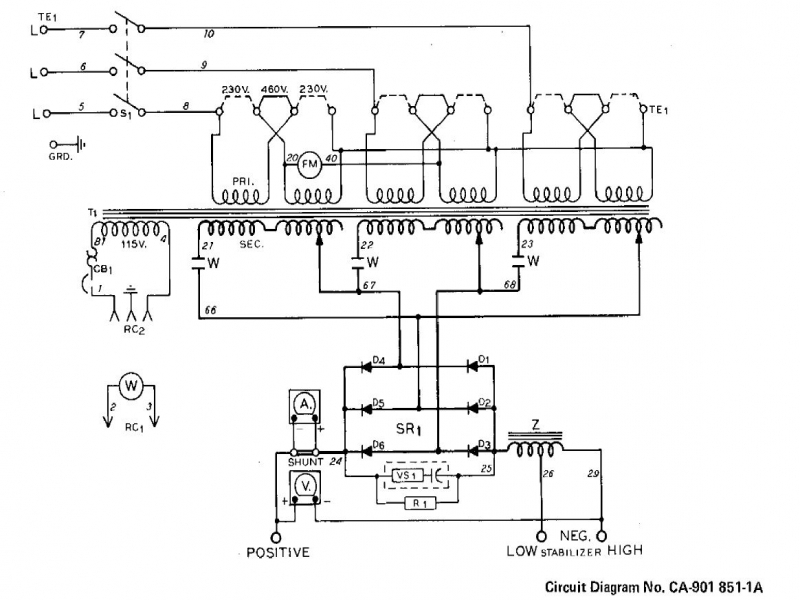 240v Transformer Wiring Diagram