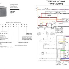 Trane Air Handler Wiring Diagram For Amp And Sub Conditioner - Forums