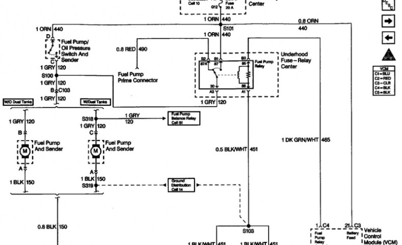 Vt Modore Fuel Pump Wiring Diagram  Fuel Pump Battery