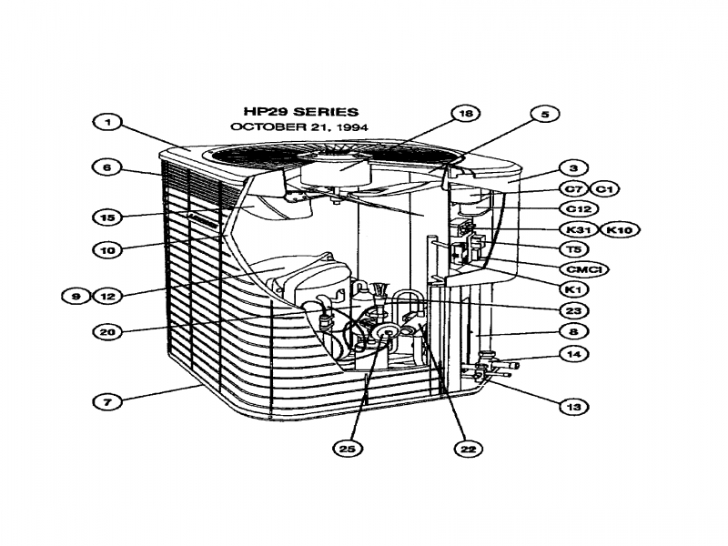ac condensing unit wiring diagram