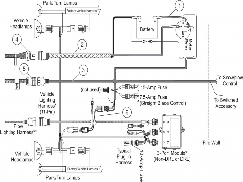 Western Plow Wiring Diagram Wiring Diagram Collection