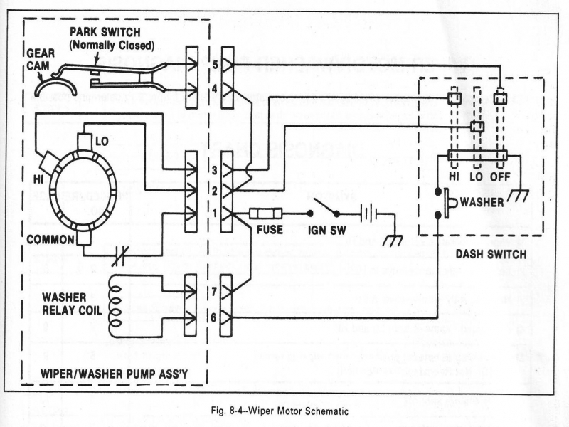 1966 Chevy Wiper Motor Wiring Diagram - Wiring Forums