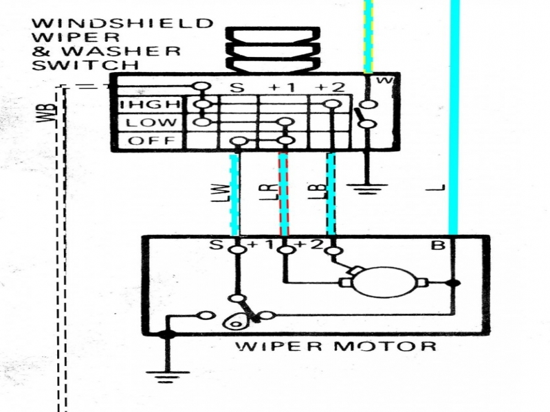 1965 Corvette Wiper Motor Wiring Diagram  Wiring Forums
