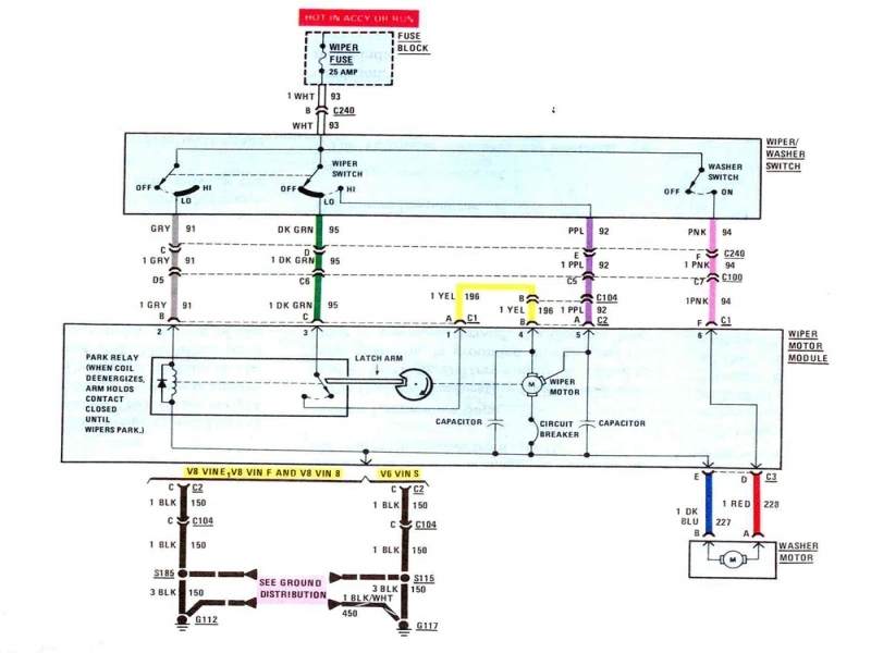 Camaro Steering Column Wiring Diagram