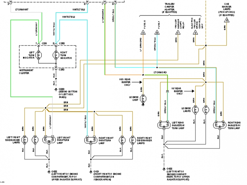 Wiring Diagram 1997 Ford Explorer Break Lights - Wiring Forums