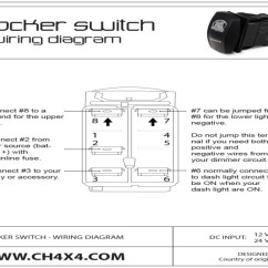12 Volt Toggle Switch Wiring Diagram 2006 Subaru Impreza Wrx Radio For Arb Rocker On Images. Free Within - Forums