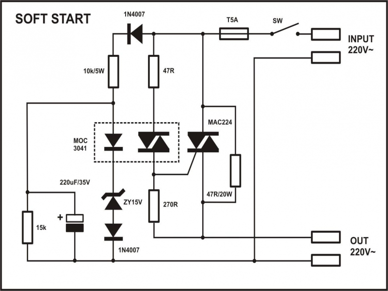 Wiring Diagram For Fan On Soft Start Starter