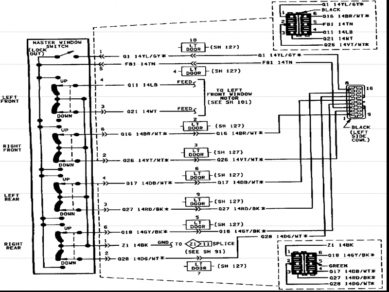 Wiring Diagram For Jeep Grand Cherokee Wiring Diagram Collection