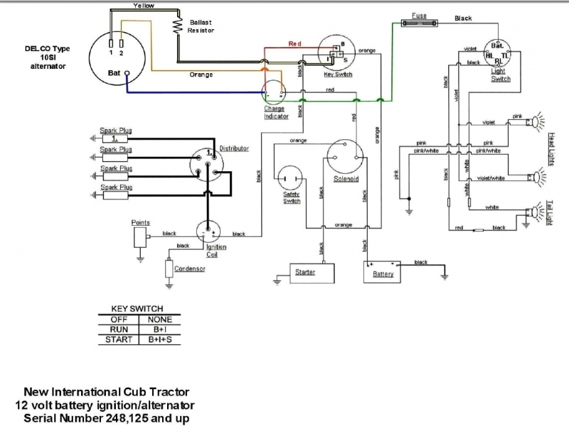 4020 12 Volt Alternator Wiring Diagram  Wiring Forums