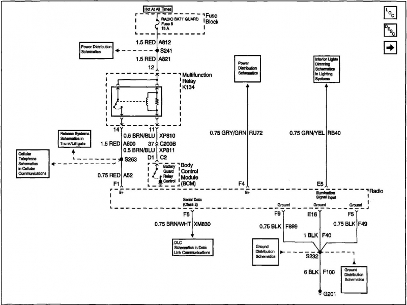 Sophisticated Cadillac Bose Wiring Diagram Contemporary Best