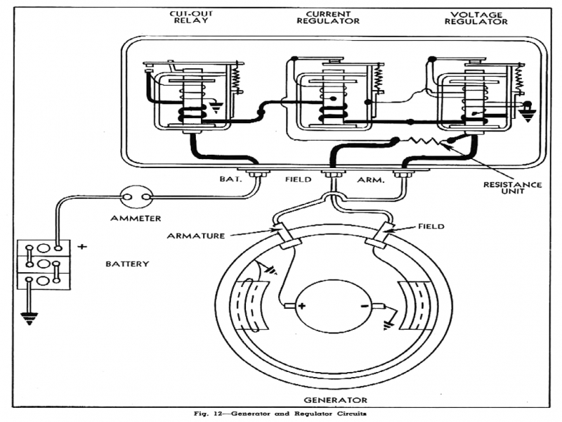 1 Wire Alternator Wiring Diagram  Wiring Forums