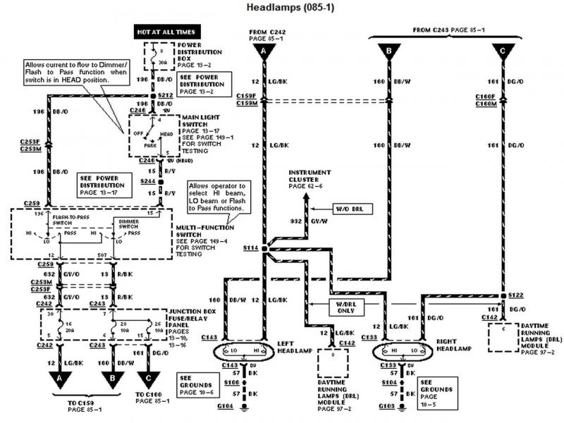 2005 ford f150 ac wiring diagram