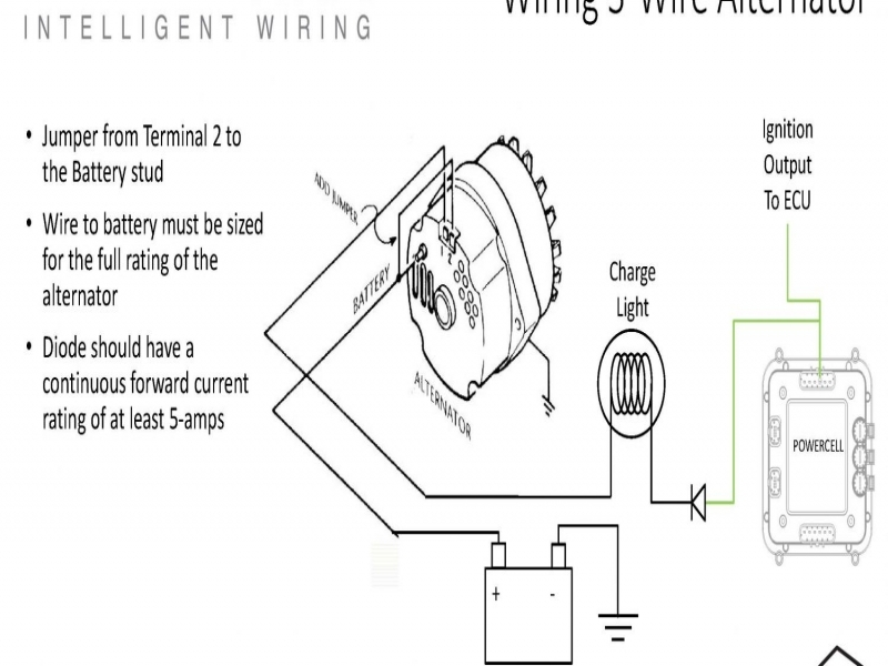 Wiring Diagrams : Alternator Wiring 12Si Alternator Ac