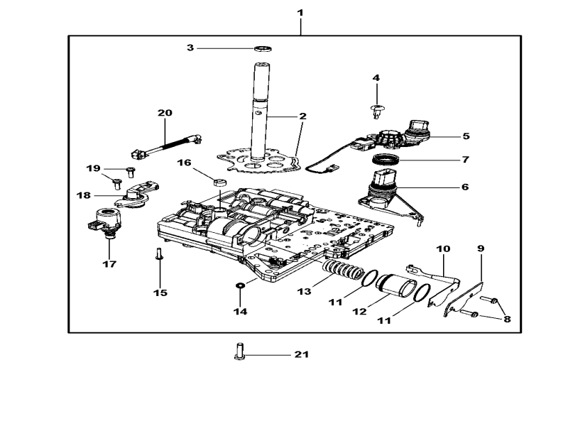 Wiring Diagrams : Valve Body & Related Parts For 2008