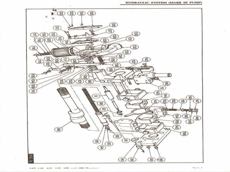 30 Ford 4610 Parts Diagram