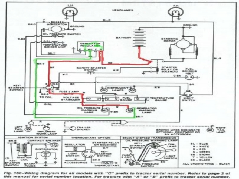 Diagram 1953 Ford Naa Tractor Wiring Diagram-Everything You Need to on