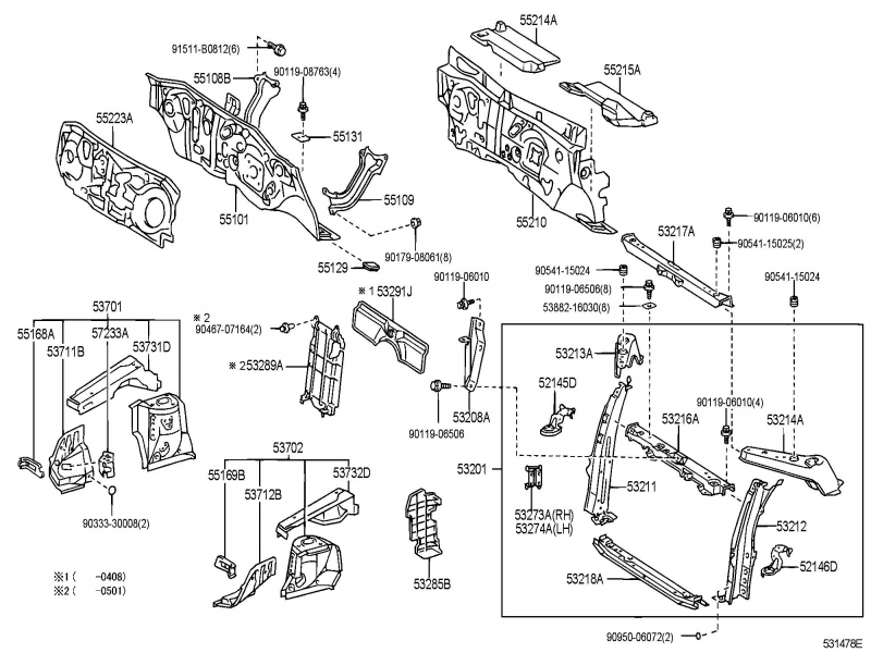 2006 scion xb parts diagram  scion xd parts catalog