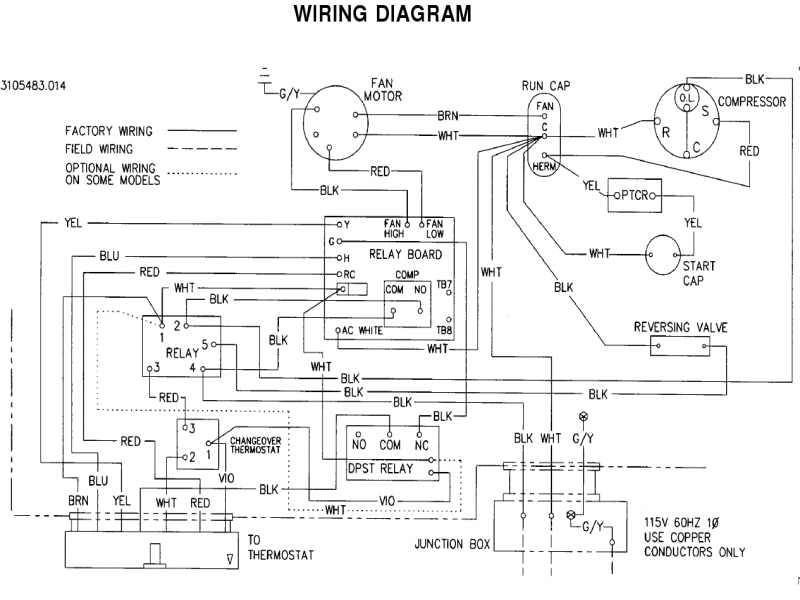 Rv Thermostat Wiring Diagram - Wiring Forums