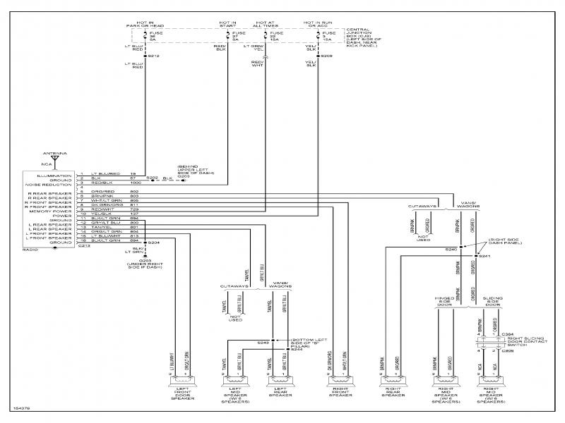 2003 Ford E250 Van Fuse Box Diagram  Wiring Forums