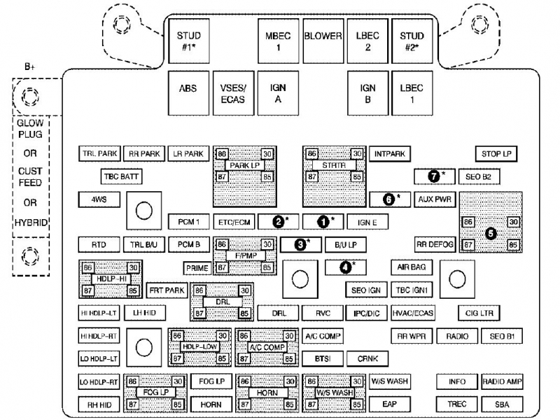 2005 Mercury Grand Marquis Fuse Box Diagram  Wiring Forums