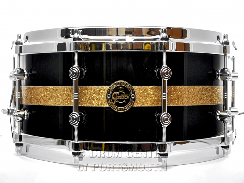 Gretsch Limited Edition Gold Series Maple Snare Drum 14X5.5 Black