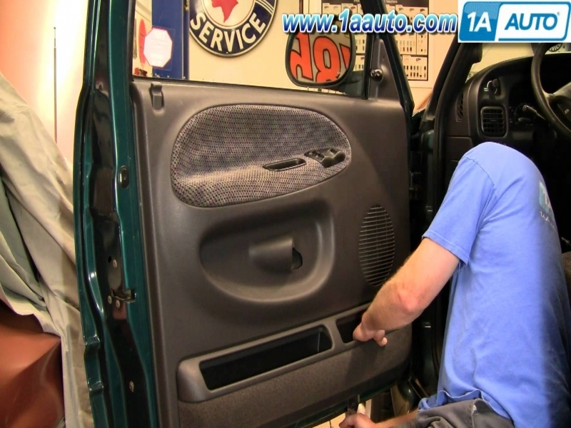 How To Install Replace A Door Panel Dodge Ram 94-01 1Aauto