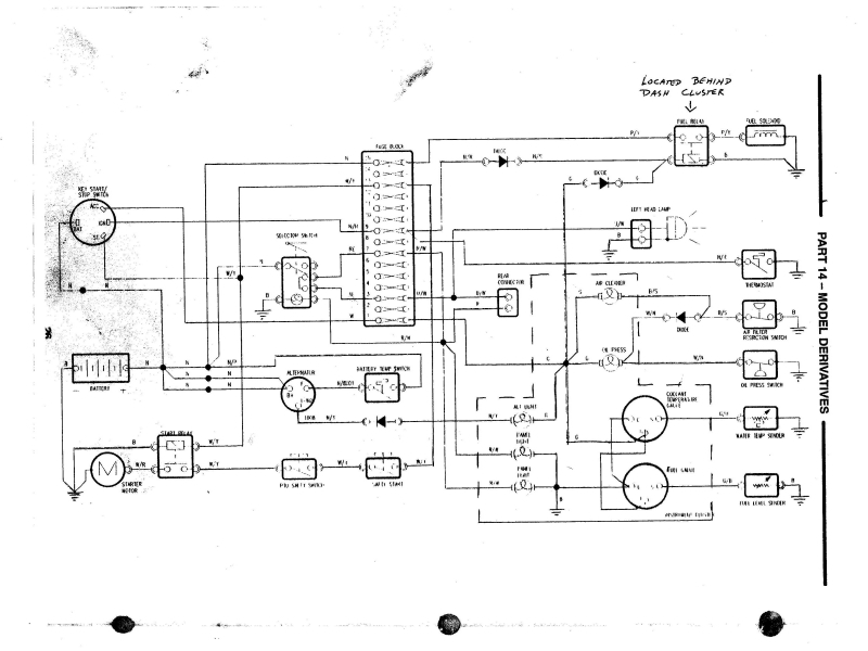 1962 ford 4000 industrial tractor wiring diagram ford