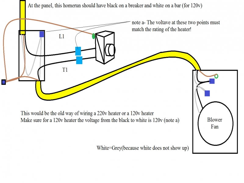 120v vs 240v baseboard heater wiring diagram wiring a 240v baseboard heater wiring forums